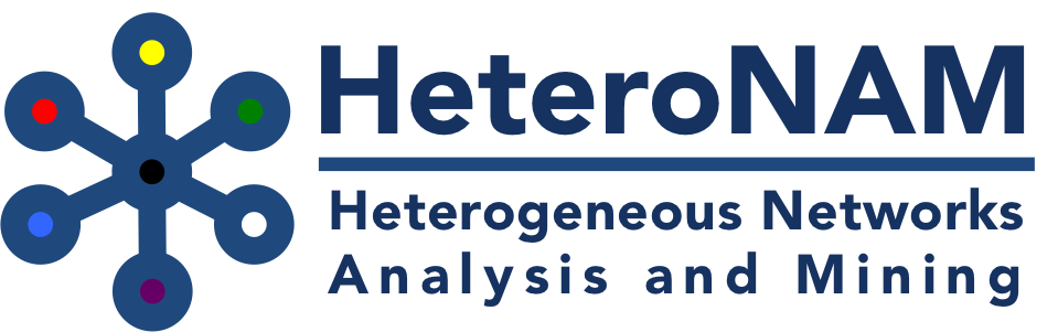 HeteroNAM: Heterogeneous Networks Analysis and Mining